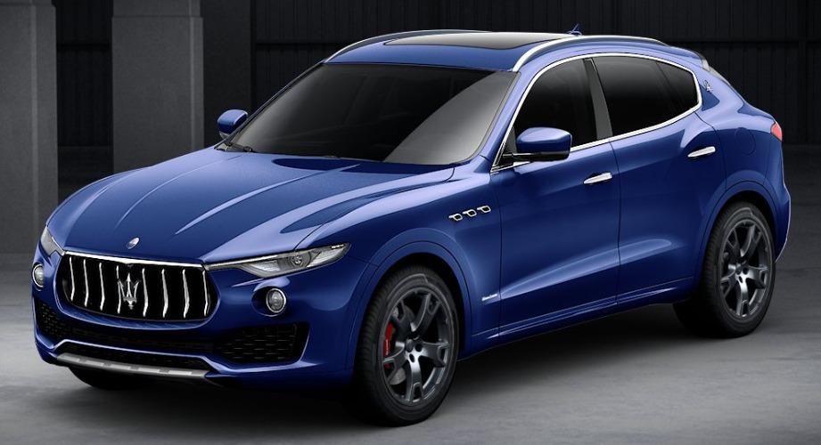 New 2018 Maserati Levante S Q4 GranLusso for sale Sold at Pagani of Greenwich in Greenwich CT 06830 1