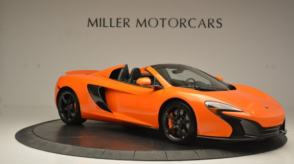 Used 2015 McLaren 650S Spider Convertible for sale Sold at Pagani of Greenwich in Greenwich CT 06830 10