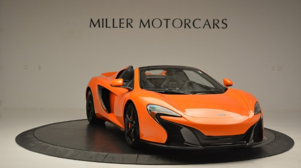 Used 2015 McLaren 650S Spider Convertible for sale Sold at Pagani of Greenwich in Greenwich CT 06830 11