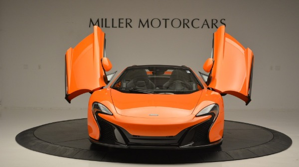 Used 2015 McLaren 650S Spider Convertible for sale Sold at Pagani of Greenwich in Greenwich CT 06830 13