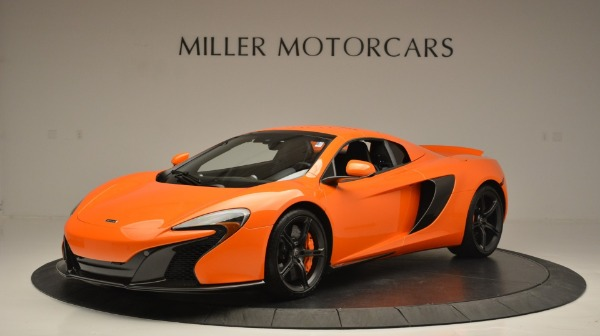 Used 2015 McLaren 650S Spider Convertible for sale Sold at Pagani of Greenwich in Greenwich CT 06830 15
