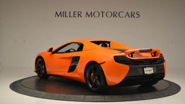 Used 2015 McLaren 650S Spider Convertible for sale Sold at Pagani of Greenwich in Greenwich CT 06830 17