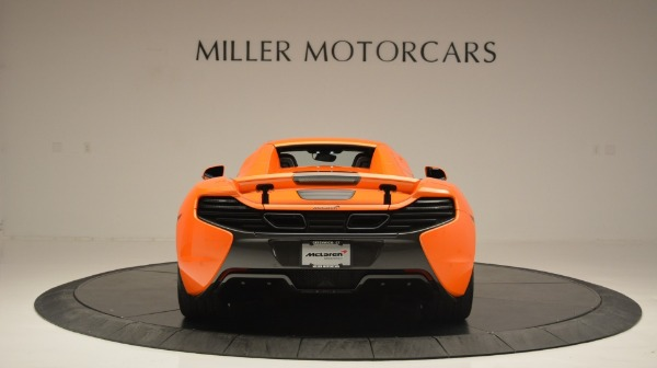 Used 2015 McLaren 650S Spider Convertible for sale Sold at Pagani of Greenwich in Greenwich CT 06830 18