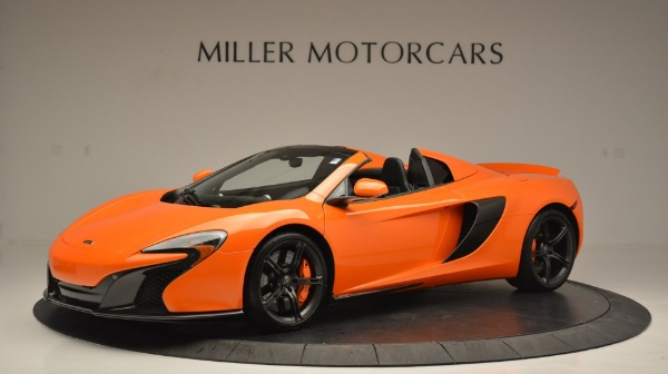 Used 2015 McLaren 650S Spider Convertible for sale Sold at Pagani of Greenwich in Greenwich CT 06830 2