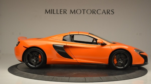 Used 2015 McLaren 650S Spider Convertible for sale Sold at Pagani of Greenwich in Greenwich CT 06830 20