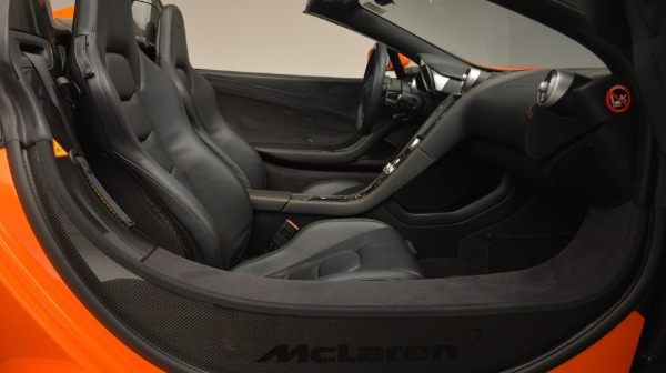 Used 2015 McLaren 650S Spider Convertible for sale Sold at Pagani of Greenwich in Greenwich CT 06830 26