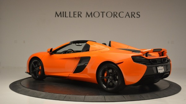 Used 2015 McLaren 650S Spider Convertible for sale Sold at Pagani of Greenwich in Greenwich CT 06830 4