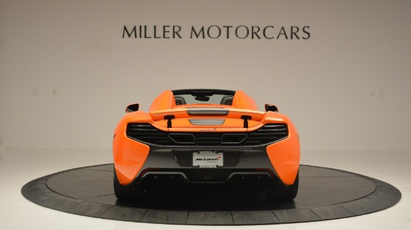 Used 2015 McLaren 650S Spider Convertible for sale Sold at Pagani of Greenwich in Greenwich CT 06830 6