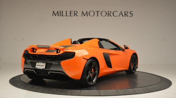Used 2015 McLaren 650S Spider Convertible for sale Sold at Pagani of Greenwich in Greenwich CT 06830 7
