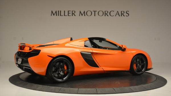 Used 2015 McLaren 650S Spider Convertible for sale Sold at Pagani of Greenwich in Greenwich CT 06830 8