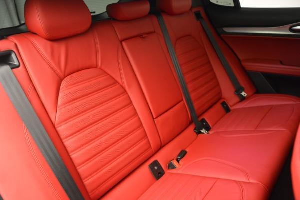 New 2018 Alfa Romeo Stelvio Ti Sport Q4 for sale Sold at Pagani of Greenwich in Greenwich CT 06830 24