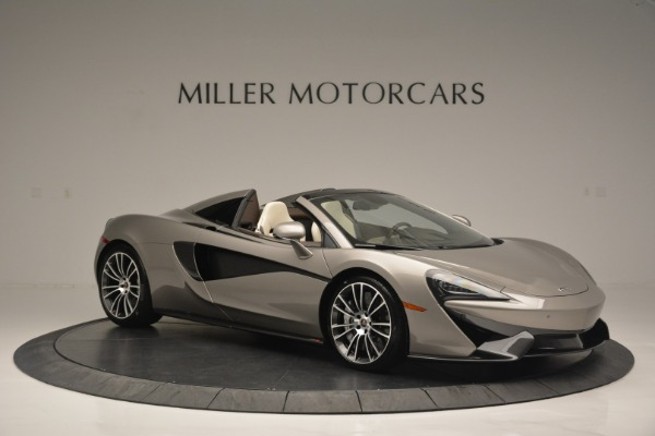 New 2018 McLaren 570S Spider for sale Sold at Pagani of Greenwich in Greenwich CT 06830 10