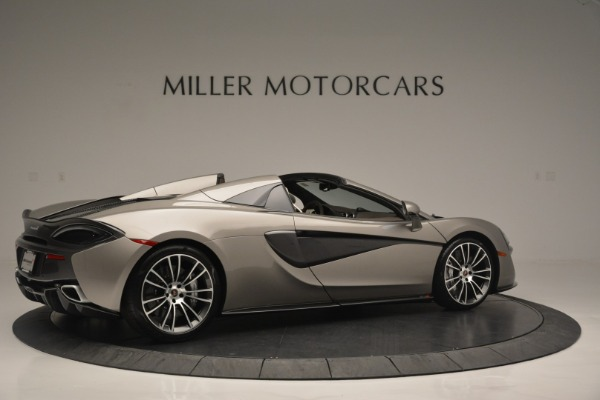 New 2018 McLaren 570S Spider for sale Sold at Pagani of Greenwich in Greenwich CT 06830 8