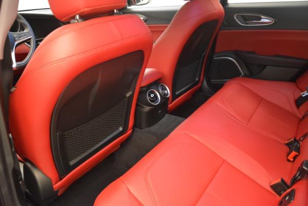 New 2018 Alfa Romeo Giulia Q4 for sale Sold at Pagani of Greenwich in Greenwich CT 06830 16