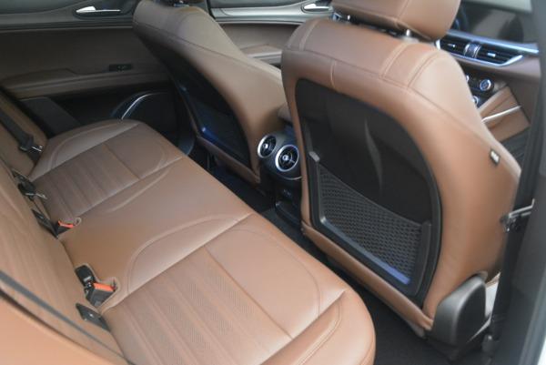 Used 2018 Alfa Romeo Stelvio Ti Sport Q4 for sale $36,900 at Pagani of Greenwich in Greenwich CT 06830 23