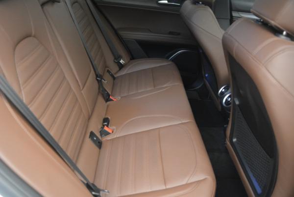 Used 2018 Alfa Romeo Stelvio Ti Sport Q4 for sale $36,900 at Pagani of Greenwich in Greenwich CT 06830 24
