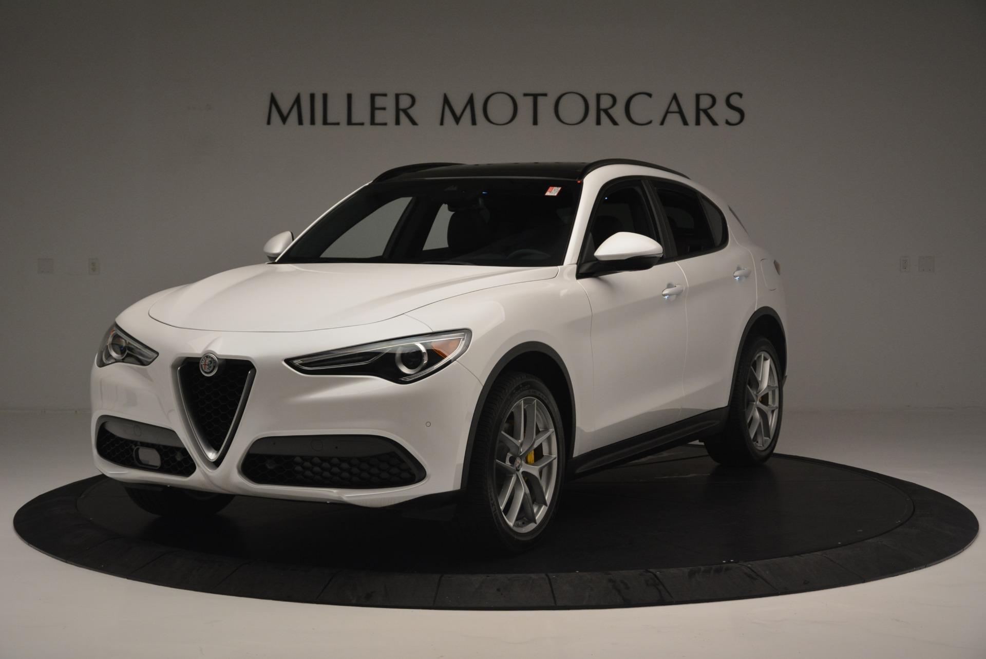 Used 2018 Alfa Romeo Stelvio Ti Sport Q4 for sale $36,900 at Pagani of Greenwich in Greenwich CT 06830 1