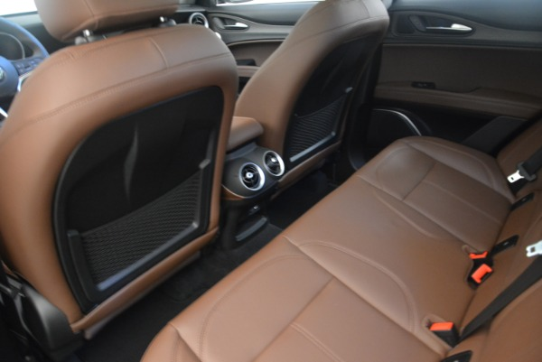 New 2018 Alfa Romeo Stelvio Ti Q4 for sale Sold at Pagani of Greenwich in Greenwich CT 06830 16