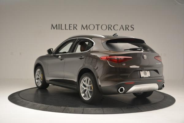 New 2018 Alfa Romeo Stelvio Ti Q4 for sale Sold at Pagani of Greenwich in Greenwich CT 06830 5