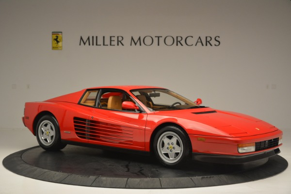 Used 1990 Ferrari Testarossa for sale Sold at Pagani of Greenwich in Greenwich CT 06830 10