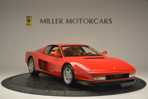 Used 1990 Ferrari Testarossa for sale Sold at Pagani of Greenwich in Greenwich CT 06830 11