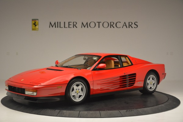 Used 1990 Ferrari Testarossa for sale Sold at Pagani of Greenwich in Greenwich CT 06830 2