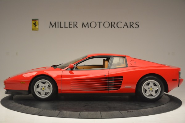 Used 1990 Ferrari Testarossa for sale Sold at Pagani of Greenwich in Greenwich CT 06830 3