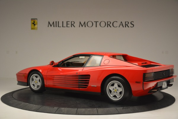 Used 1990 Ferrari Testarossa for sale Sold at Pagani of Greenwich in Greenwich CT 06830 4