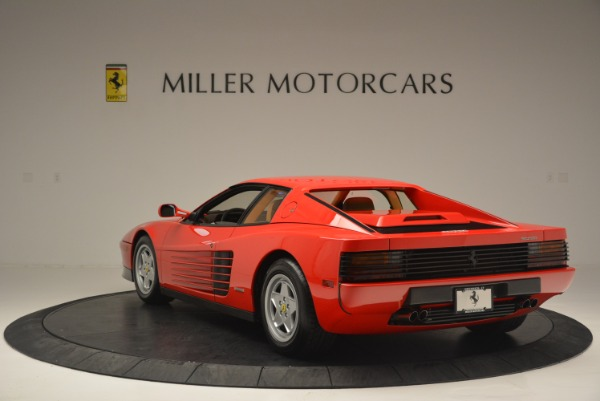 Used 1990 Ferrari Testarossa for sale Sold at Pagani of Greenwich in Greenwich CT 06830 5