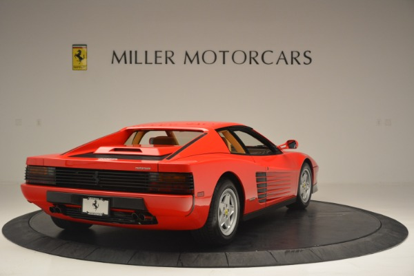 Used 1990 Ferrari Testarossa for sale Sold at Pagani of Greenwich in Greenwich CT 06830 7