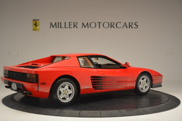 Used 1990 Ferrari Testarossa for sale Sold at Pagani of Greenwich in Greenwich CT 06830 8