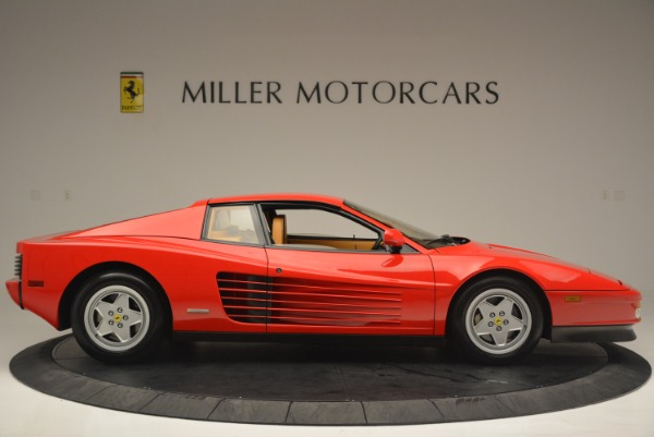 Used 1990 Ferrari Testarossa for sale Sold at Pagani of Greenwich in Greenwich CT 06830 9