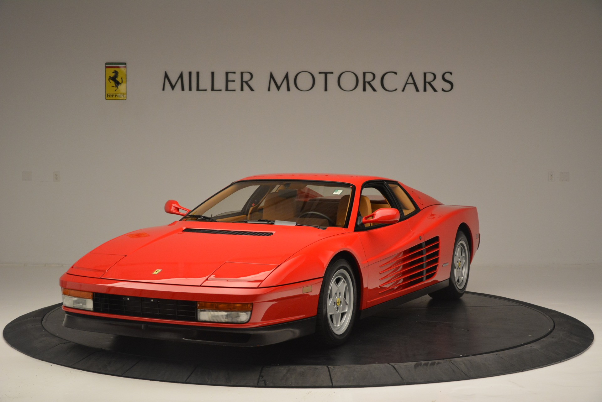 Used 1990 Ferrari Testarossa for sale Sold at Pagani of Greenwich in Greenwich CT 06830 1