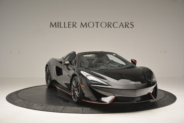 Used 2018 McLaren 570S Spider for sale Sold at Pagani of Greenwich in Greenwich CT 06830 11
