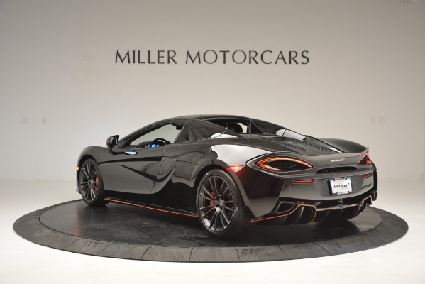 Used 2018 McLaren 570S Spider for sale Sold at Pagani of Greenwich in Greenwich CT 06830 17