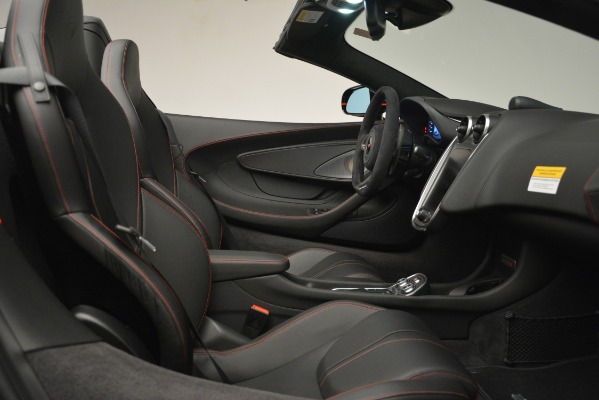 Used 2018 McLaren 570S Spider for sale Sold at Pagani of Greenwich in Greenwich CT 06830 27