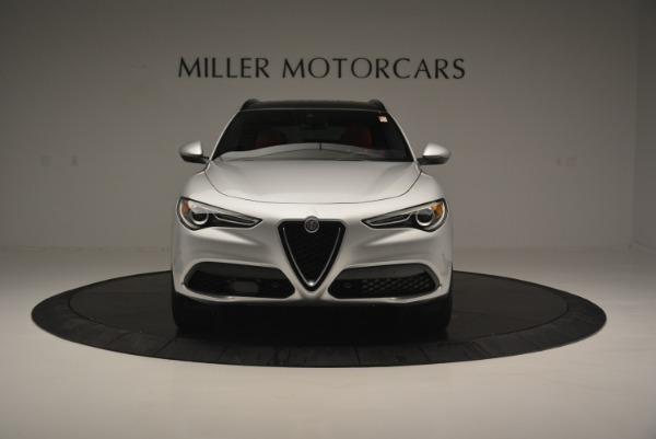 Used 2018 Alfa Romeo Stelvio Ti Sport Q4 for sale $36,900 at Pagani of Greenwich in Greenwich CT 06830 13