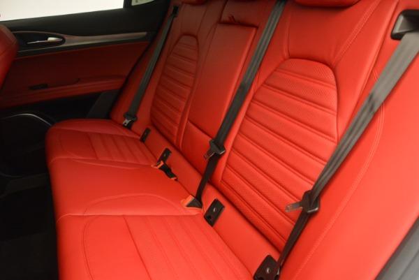 Used 2018 Alfa Romeo Stelvio Ti Sport Q4 for sale $36,900 at Pagani of Greenwich in Greenwich CT 06830 17