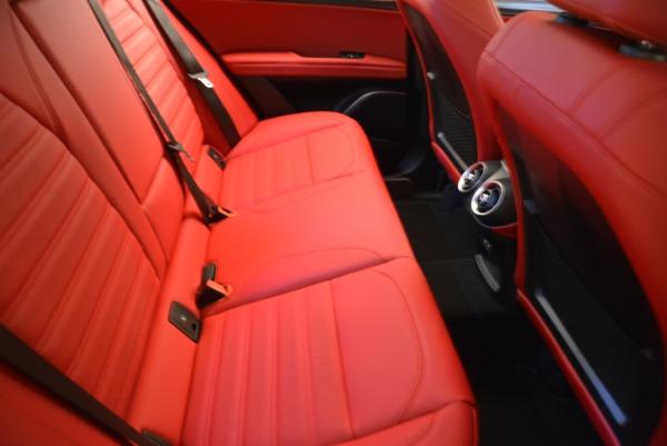 Used 2018 Alfa Romeo Stelvio Ti Sport Q4 for sale $36,900 at Pagani of Greenwich in Greenwich CT 06830 21