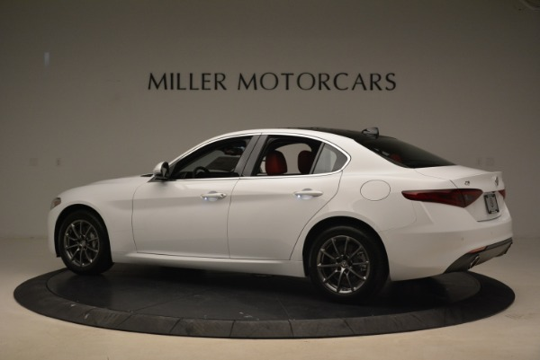 New 2018 Alfa Romeo Giulia Q4 for sale Sold at Pagani of Greenwich in Greenwich CT 06830 4