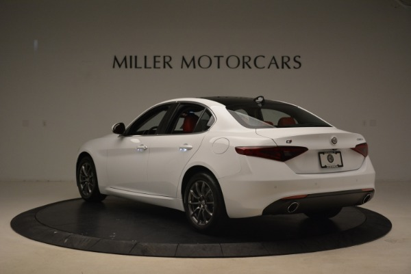 New 2018 Alfa Romeo Giulia Q4 for sale Sold at Pagani of Greenwich in Greenwich CT 06830 5