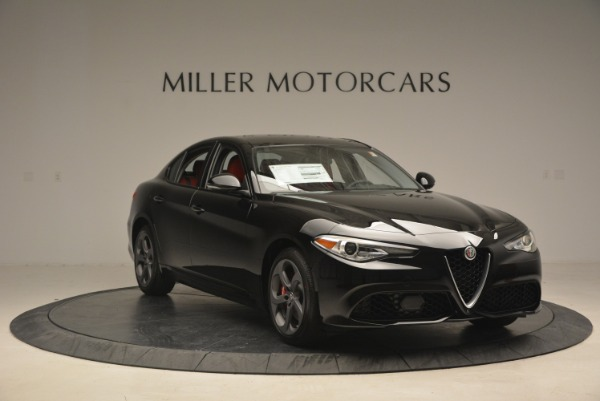 New 2018 Alfa Romeo Giulia Sport Q4 for sale Sold at Pagani of Greenwich in Greenwich CT 06830 11