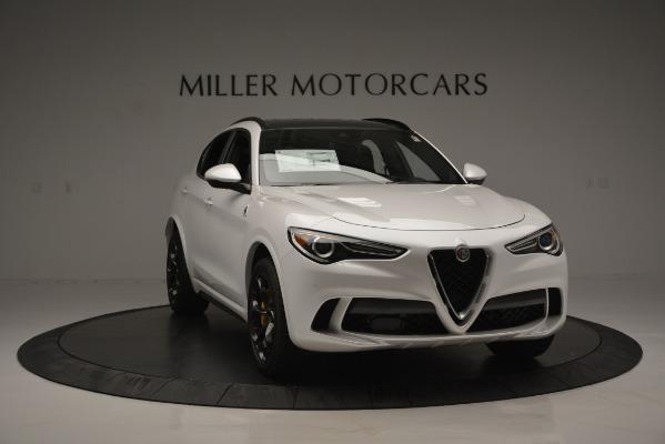 New 2018 Alfa Romeo Stelvio Quadrifoglio Quadrifoglio for sale Sold at Pagani of Greenwich in Greenwich CT 06830 15