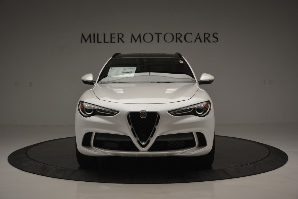 New 2018 Alfa Romeo Stelvio Quadrifoglio Quadrifoglio for sale Sold at Pagani of Greenwich in Greenwich CT 06830 16