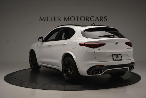 New 2018 Alfa Romeo Stelvio Quadrifoglio Quadrifoglio for sale Sold at Pagani of Greenwich in Greenwich CT 06830 5