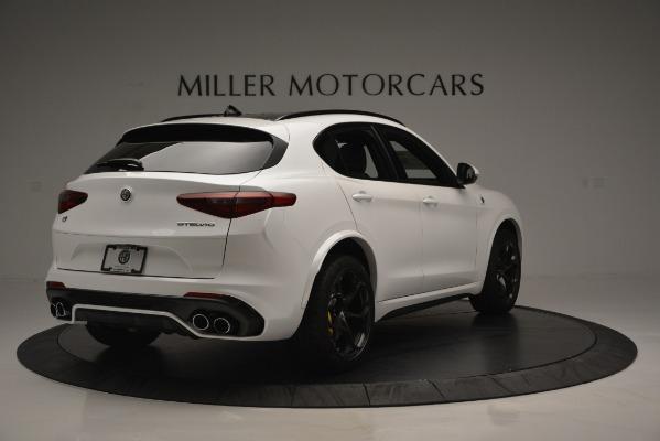 New 2018 Alfa Romeo Stelvio Quadrifoglio Quadrifoglio for sale Sold at Pagani of Greenwich in Greenwich CT 06830 8