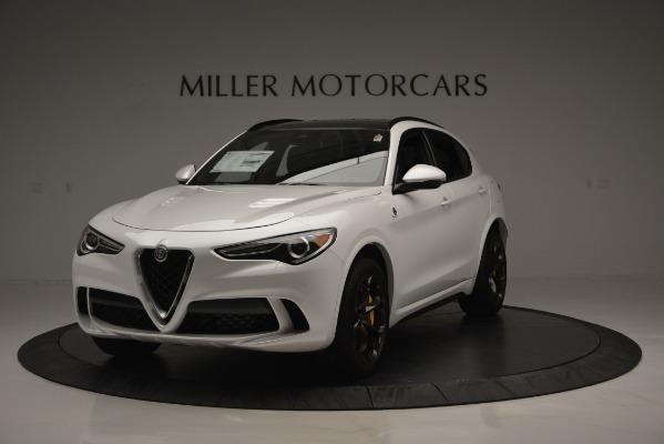 New 2018 Alfa Romeo Stelvio Quadrifoglio Quadrifoglio for sale Sold at Pagani of Greenwich in Greenwich CT 06830 1