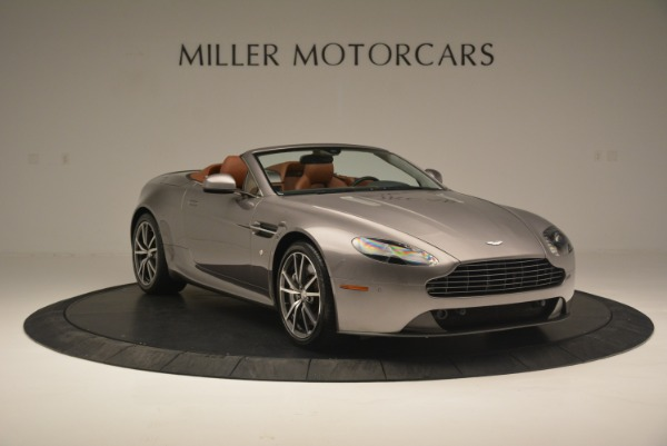 Used 2015 Aston Martin V8 Vantage Roadster for sale Sold at Pagani of Greenwich in Greenwich CT 06830 11