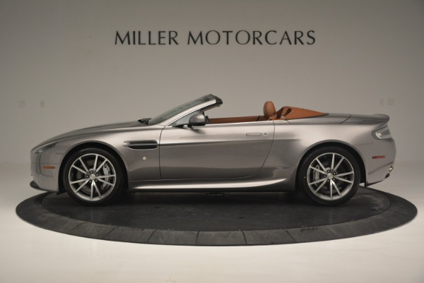 Used 2015 Aston Martin V8 Vantage Roadster for sale Sold at Pagani of Greenwich in Greenwich CT 06830 3