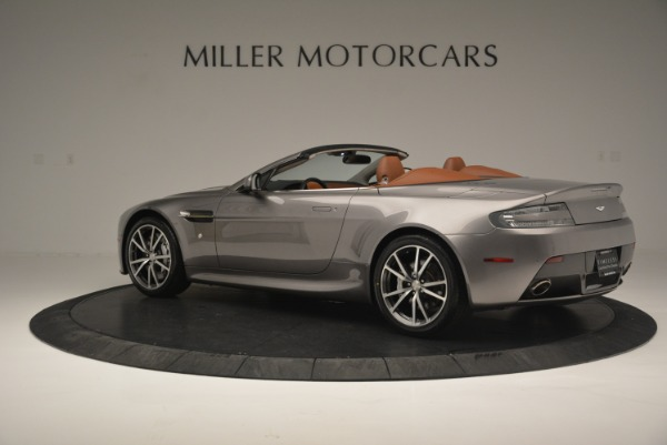 Used 2015 Aston Martin V8 Vantage Roadster for sale Sold at Pagani of Greenwich in Greenwich CT 06830 4